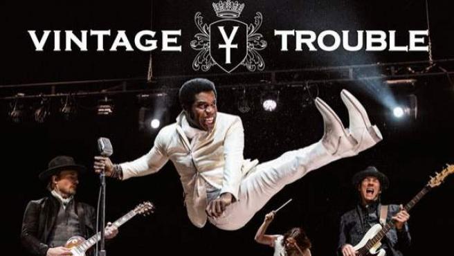 La banda californiana de 'soul', Vintage Trouble.