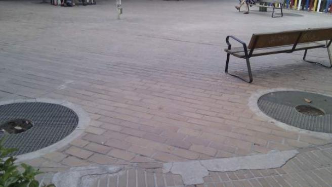 La plaza de la Remonta, en Tetuán, sufrirá una remolación el próximo año.
