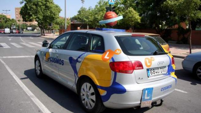 Imagen de archivo de un coche de autoescuela.