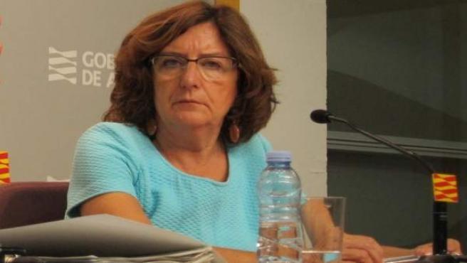 Consejera de Ciudadanía y Derechos Sociales de Aragón, María Victoria Broto