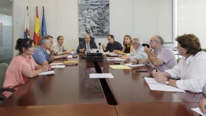 Oria preside la reunión de la Mesa Agraria