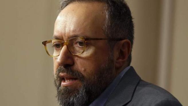 El portavoz de Ciudadanos en la Cámara Baja, Juan Carlos Girauta.