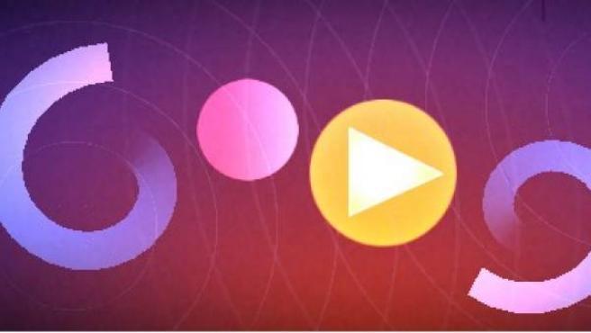 Imagen del 'doodle' de Google dedicado a Oskar Fischinger.