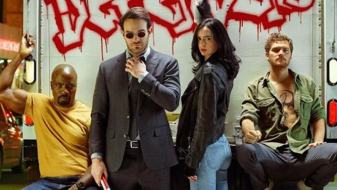 Nuevo póster de 'The Defenders': Los héroes de Marvel y Netflix, más oscuros que nunca