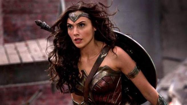 Gal Gadot en una escena de 'Wonder Woman'