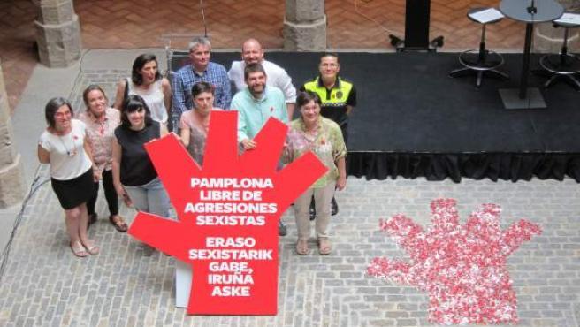 Presentación de la campaña contra las agresiones sexistas