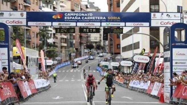 Sheyla Gutiérrez, campeona de España en ruta