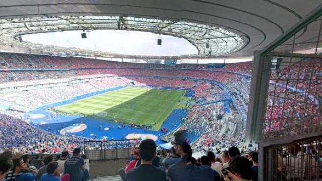Un partido de la Eurocopa 2016 en el Estadio Nacional de Francia, en París.
