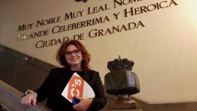 La concejal de Cs en Granada María del Mar Sánchez