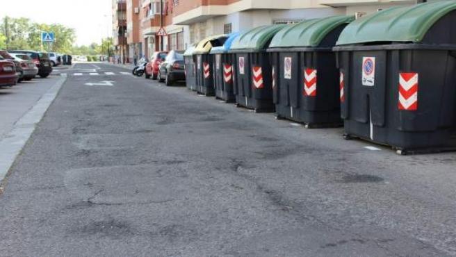 El PP exige el arreglo del firme en las calles Mónaco y Berna en La Almozara.