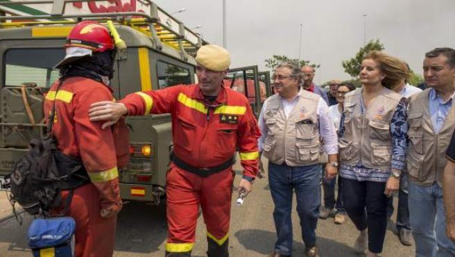 Incendio forestal de Moguer (Huelva)