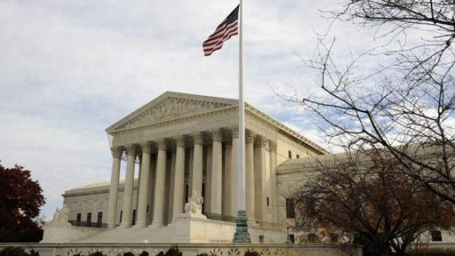 Vista exterior del Tribunal Supremo de Estados Unidos, en Washington DC.