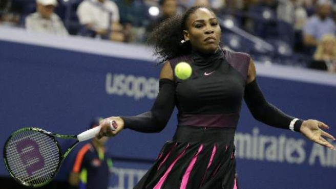 Serena Williams, en el US Open, en foto de archivo.