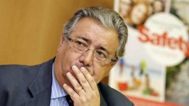 Imagen del ministro de Interior, Juan Ignacio Zoido.