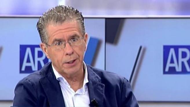 Francisco Granados, en una entrevista en Telecinco.
