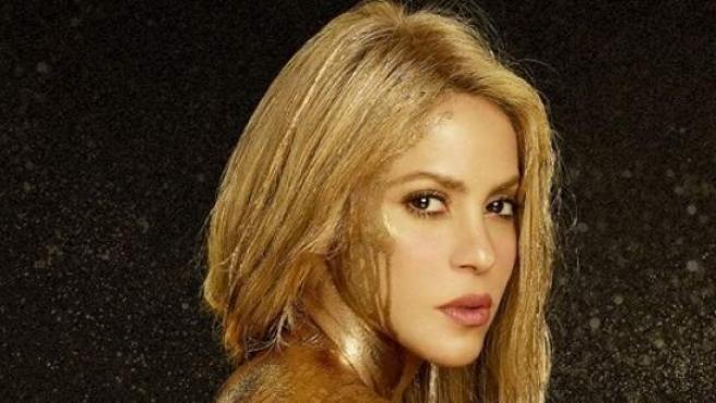 Imagen promocional de la última gira de Shakira.