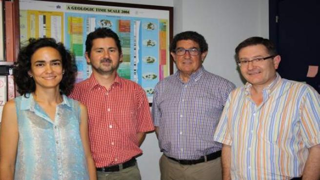 Foto de los investigadores encargados del proyecto