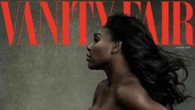 La tenista Serena Williams, desnuda en la portada de 'Vanity Fair'.