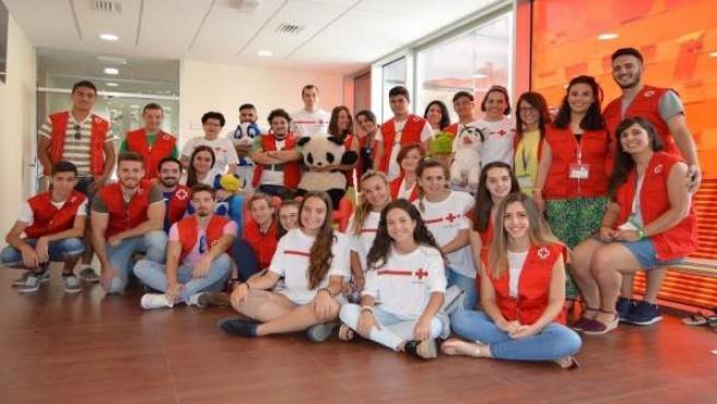 Voluntarios de Cruz Roja