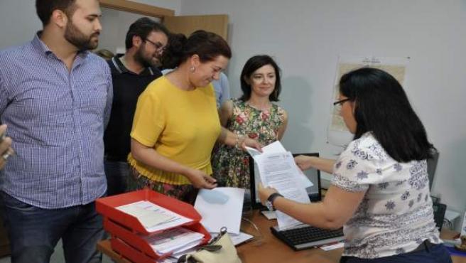 Precandidatura Eva Pérez