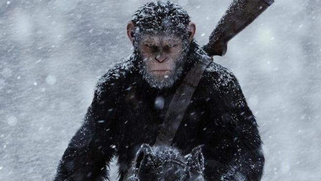 """Primeras críticas de 'La guerra del planeta de los simios': """"La mejor trilogía desde 'Star Wars"""""""
