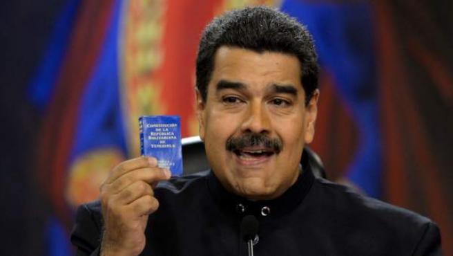 Nicolás Maduro, en una intervención.