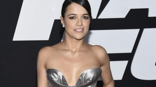 La actriz Michelle Rodriguez, en una imagen reciente.