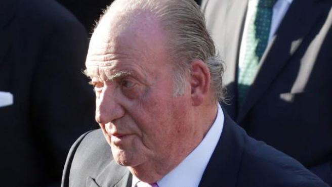 Don Juan Carlos, el pasado 12 de junio de 2017 en un acto en Madrid.