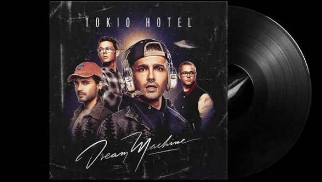 Portada del disco 'Dream Machine', de Tokio Hotel, que se editará también en vinilo.