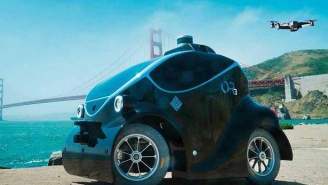 Los coches patrulla autónomos realizarán labores de vigilancia en 360 grados.