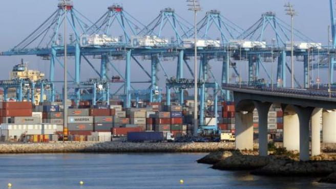 Imagen de archivo del puerto de Algeciras
