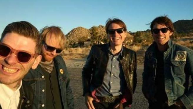 Los miembros de la banda Franz Ferdinand.