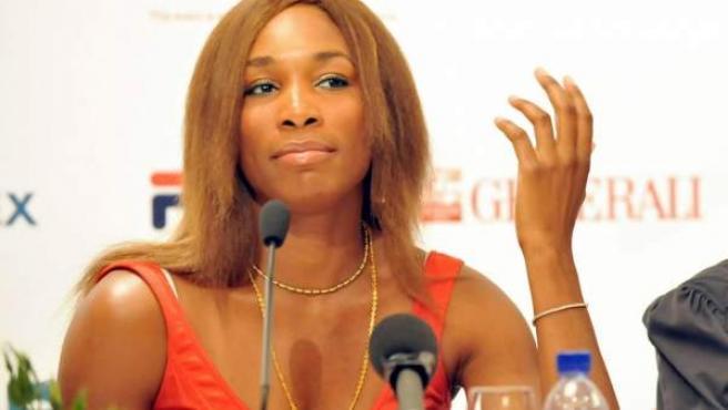 Una imagen de archivo de la tenista Venus Williams.