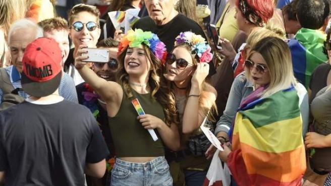 Manifestación del Orgullo Gay en Madrid.