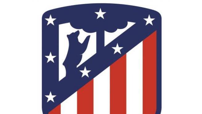 Nuevo escudo del Atlético de Madrid.