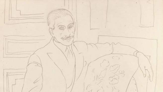 Retrato de Paul Rosenberg (Portrait de Paul Rosenberg), 1918-1919. Pablo Picasso (1881-1973). Colección particular © Herederos Picasso 2017 © Photo: Studio Sebert / Galerie Troubetzkoy