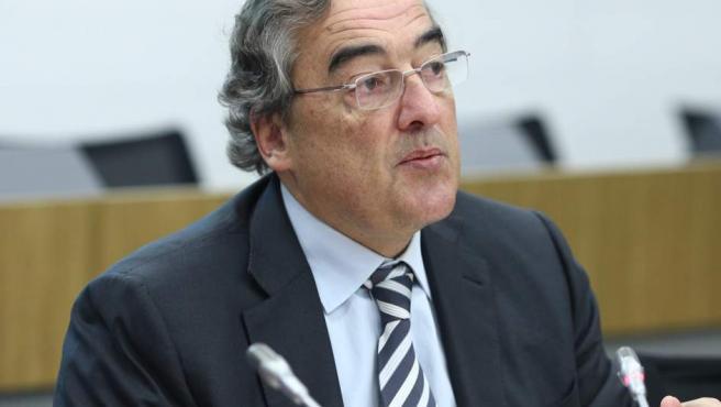 El presidente de la CEOE, Juan Rosell, en un acto.