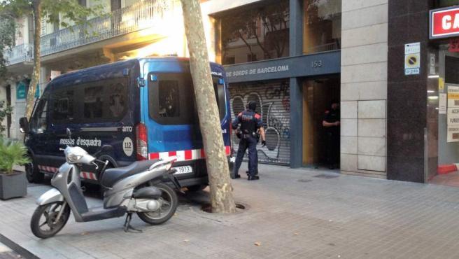 Operación contra la camorra italiana en Barcelona.