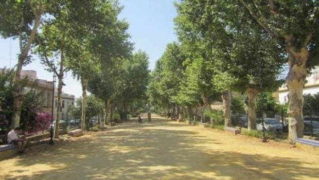 Alameda de Alfonso XIII en Carmona