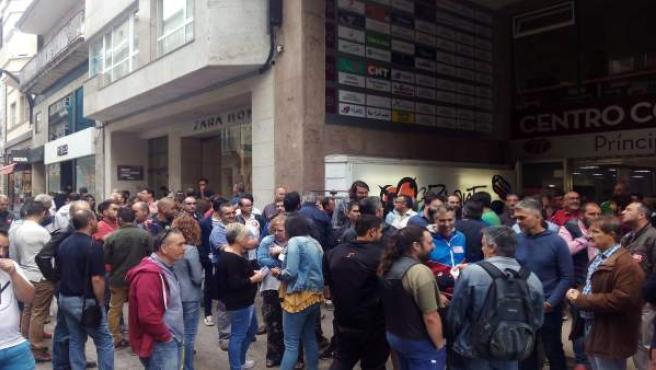 Concentración del sector del metal en Vigo