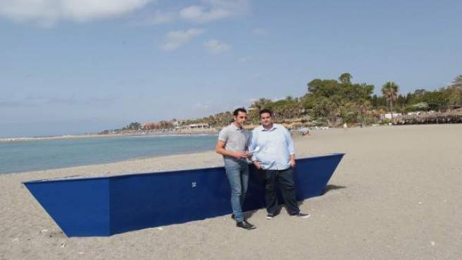 Puntos de moragas en Marbella. Concejales