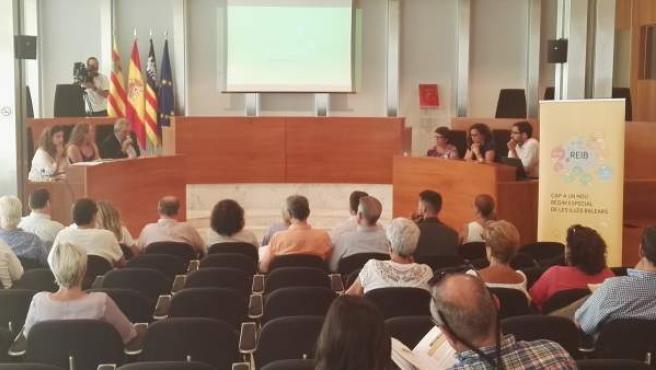 Presentación REB en Ibiza