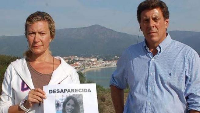 Los padres de Diana Quer en una imagen de archivo.