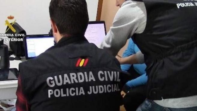 Operación contra la pedofilia.