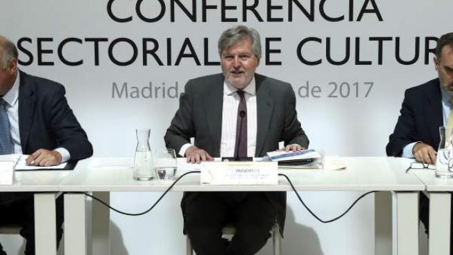 El ministro de Educación, Cultura y Deporte, Íñigo Méndez de Vigo, preside la XXV Conferencia Sectorial de Cultura.