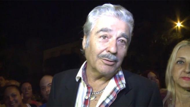 <p>Imagen de Máximo Valverde en Murcia, para ver el concierto de Isabel Pantoja</p>