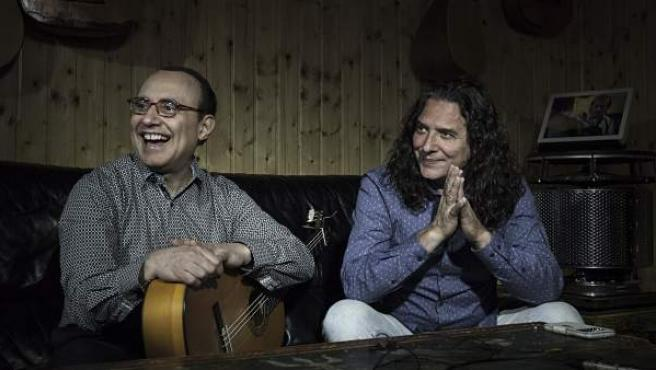 De izda. a dcha., Michel Camilo y Tomatito.