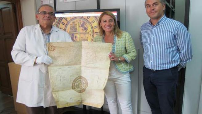 Digitalización del Archivo Histórico de Cáceres
