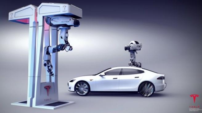 Las estaciones de recarga tienen placas solares para recargar los drones con la energía del sol.
