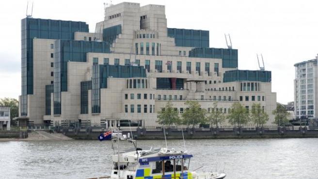 Sede del MI6 en Londres.